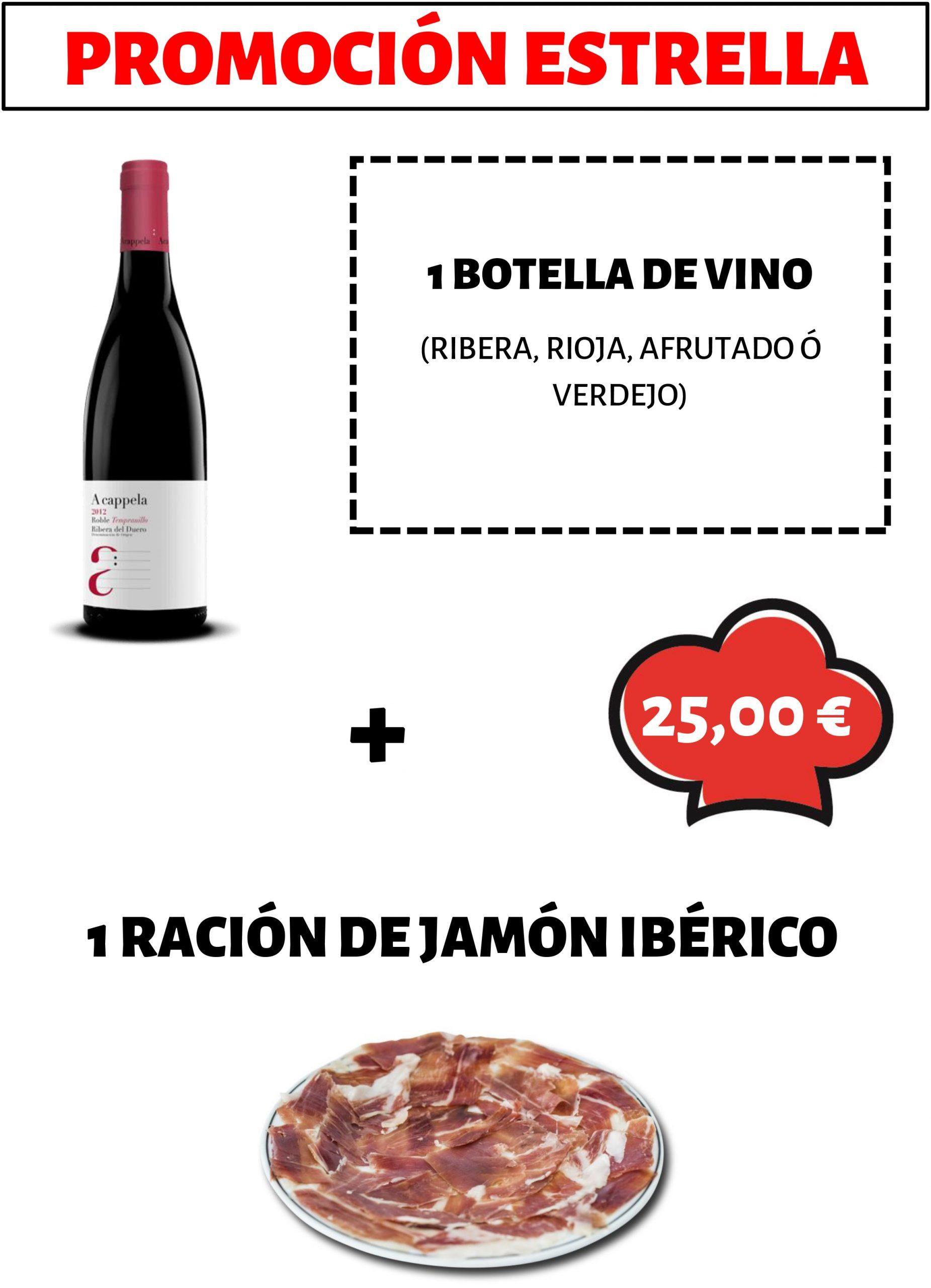PROMOCION VINO+IBERICO